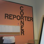 Bulletin Board showing the Reporter Corner