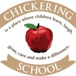 Logo for Chickering School - Chickering School is a place where children learn, laugh, grow, care and make a difference.