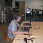 reporter editing audio files