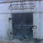 Image of one of the Chickering tombs in the Highland Cemetery, Dover, Massachusetts USA
