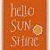 "Mrs. Grady's Icon which reads ""Hello SunShine""."