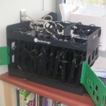 Charging station for 10 student  chromebooks.