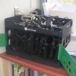 Charging station for 10 student  chromebooks.