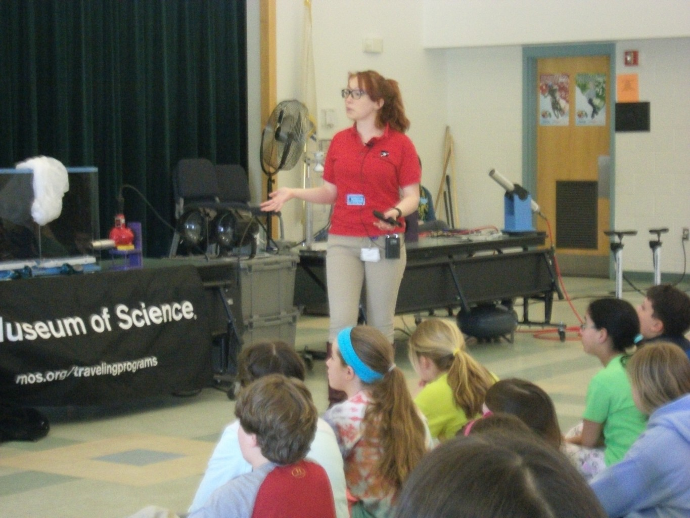 Introduction by Boston Museum of Science presenter.