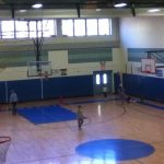 Image of the gym at Chickering School.